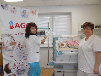 Nové prístrojové vybavenie skvalitní starostlivosť o bábätká na novorodeneckom oddelení Nemocnice Krompachy