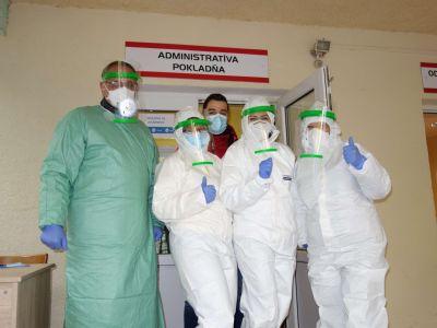 V Nemocnici AGEL Krompachy otestovali počas víkendu 448 ľudí