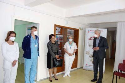 Krompašská nemocnica otvára svoje vakcinačné centrum